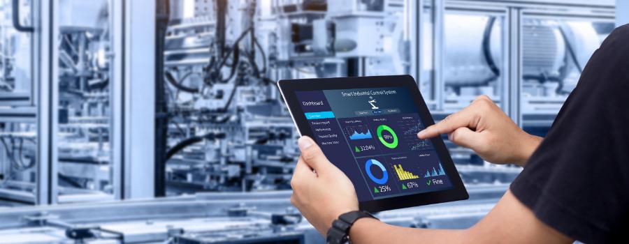 Como a conectividade e mudanças na estrutura estão impulsionando a produção industrial