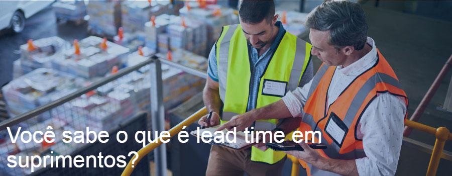 Lead time suprimentos